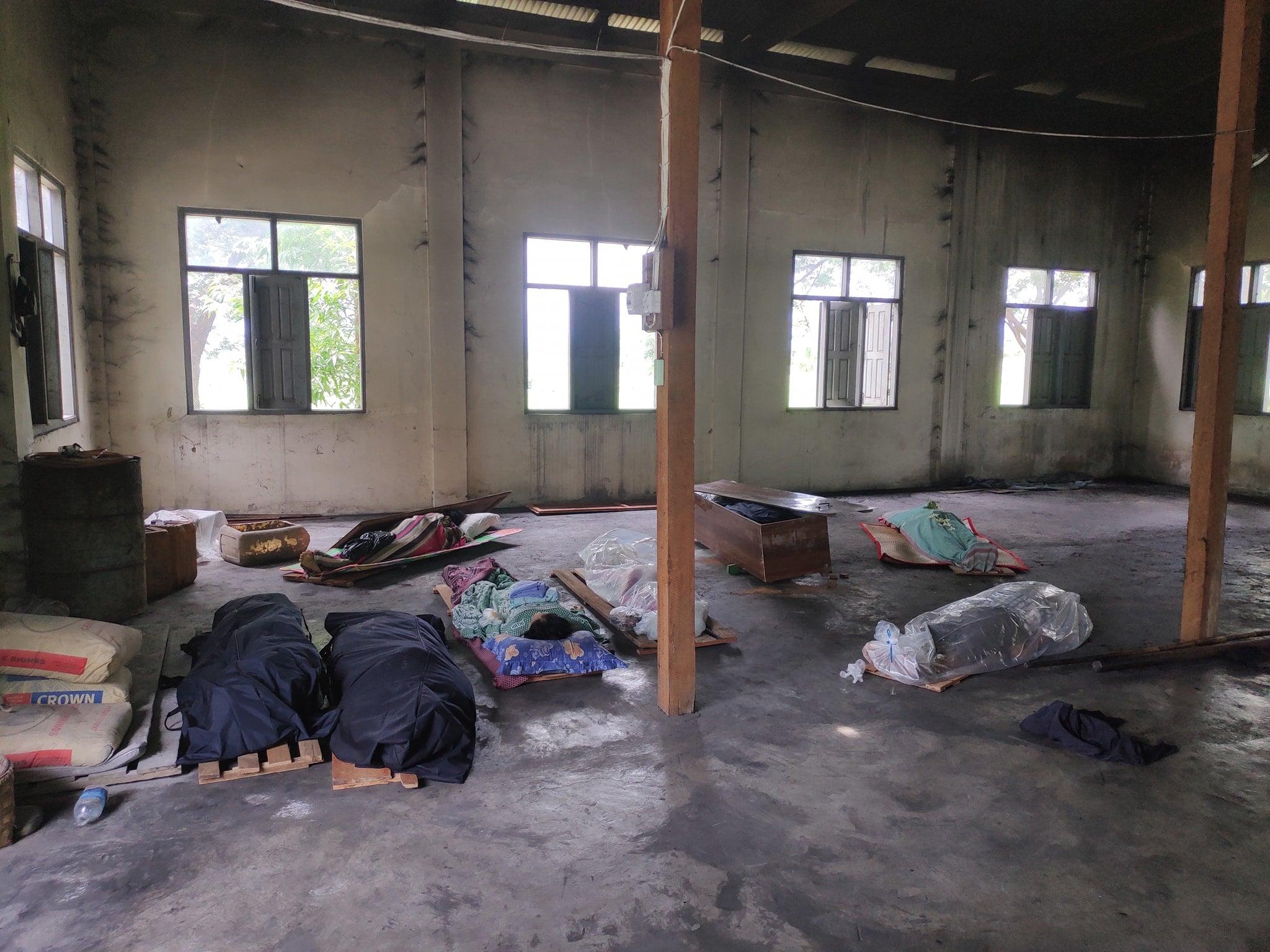 ကလေးမြို့တွင် တရက်လျှင် အလောင်း ၂၀ ကျော် သင်္ဂြိုလ်နေရ